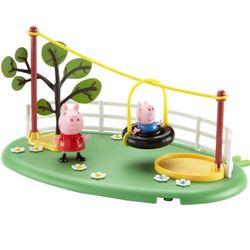 Игровой набор Свинка Пеппа Игровая площадка Пеппы Канатная дорога Peppa Pig 19069
