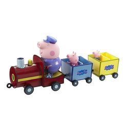 Игровой набор Свинка Пеппа Паровозик дедушки Пеппы Peppa Pig 20829