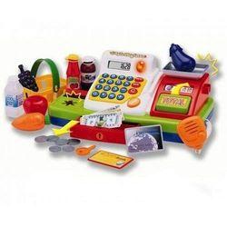 Набор Супермаркет: кассовый аппарат, продукты, свет, звук Keenway 30251