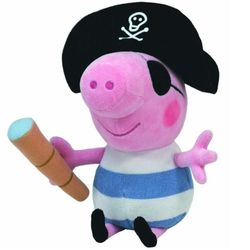 Мягкая игрушка Peppa Pig Пират Джорж, 20 см 46152
