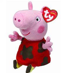 Мягкая игрушка Свинка Пеппа Грязнуля 20 см Peppa Pig 46208