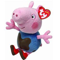 Мягкая игрушка Peppa Pig Грязнуля Джорж 20 см 46209
