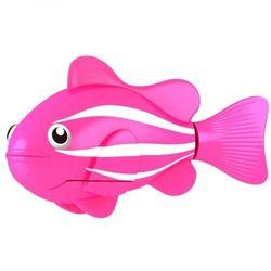 Robo Fish Роборыбка Клоун розовая 2501-2