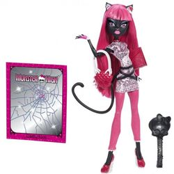 Кукла Монстер Хай Кэтти Нуар Новый Скарместр Catty Noir New Scaremester Monster High N2851/BJM43