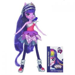Кукла Твайлайт Спаркл My Little Pony Equestria Girls Neon Rainbow Rocks A6772/A3994
