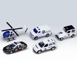 Welly набор машинок Велли Полицейская команда 5шт 97506A