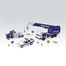 Welly набор машинок Велли Полиция 10шт 99610-10A