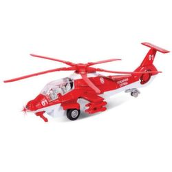 Технопарк Вертолет Пожарная служба 1:43 CT10-036-1