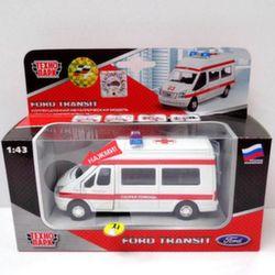 Машина Технопарк Ford Transit Скорая помощь SB-13-02-1