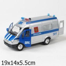 Машина Технопарк Газель Милиция/Полиция CT-1276-15