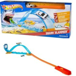 Хот Вилс Игровой набор Акулья яма Hot Wheels Shark Slammer Track Set X2604/BMG67