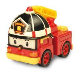 Рой металлическая пожарная машина 6 см Робокар Поли Robocar Poli 83161