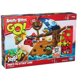 Набор Angry Birds Go Jenga Пиратский корабль A6439