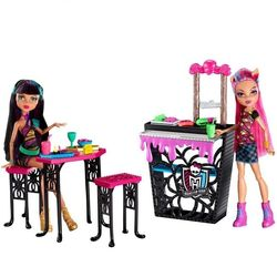 Набор Монстер Хай Крипатерия с куклами Клео де Нил и Хоулин Вульф Creepateria Monster High CBX75