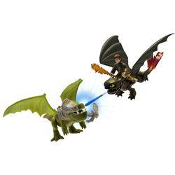 Игрушки Драконы Dragons 2 Набор из 3 фигурок: Иккинг, Беззубик, Бронированный дракон 66599/1