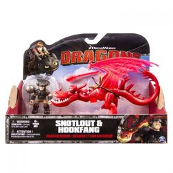 Игрушки Драконы Dragons 2 Набор из 2 фигурок: Снотлут и дракон Кривоклых 66594 /1