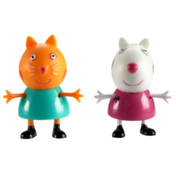 Игрушки Свинка Пеппа Peppa Pig набор из 2 фигурок Сьюзи и Кэнди 15568 /6