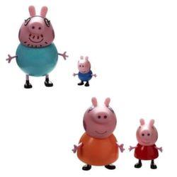 Игрушки Свинка Пеппа Peppa Pig набор из 2 фигурок в ассортименте 20837