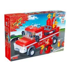 Конструктор BanBao Пожарные Big Fire Truck 158 деталей 8299