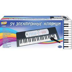 Детский синтезатор электронный с микрофоном, 54 клавиши Rinzo D-00007