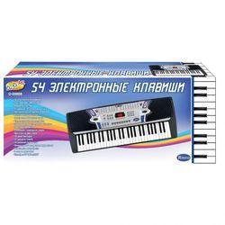 Детский синтезатор электронный с микрофоном, 54 клавиши Rinzo D-00008