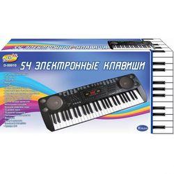 Синтезатор (пианино электронное) детский, 54 клавиши, с микрофоном D-00010