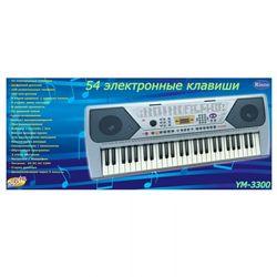 Синтезатор (пианино электронное), 54 клавиши, с микрофоном D-00011