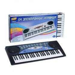 Детский синтезатор электронный с микрофоном, 54 клавиш D-00013