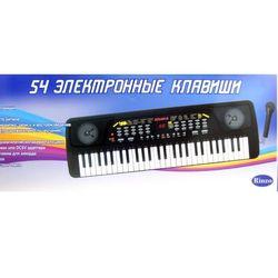 Синтезатор электронный детский, 54 клавиши, с микрофоном D-00026