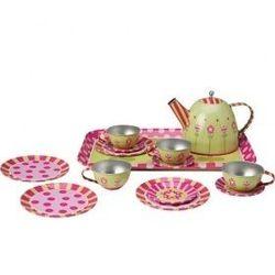 Игровой набор посуды для чаепития Помогаю Маме 14 предметов РТ-00258