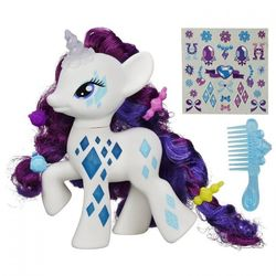 My Little Pony Пони-модница Cutie Mark Magic Рарити, свет B0367