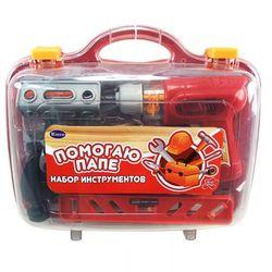 Игровой набор инструментов в чемодане Помогаю папе Deluxe, 26 предметов PT-00004(2064)