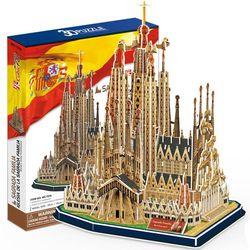 3D пазл объемный Храм Святого Семейства Испания MC153h
