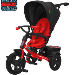 Велосипед ICON RT elite NEW Stroller by Natali Prigaro Black brilliant (красный)