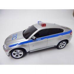 Машина радиоуправляемая модель 1:24 BMW X6 полицейская 31700-1