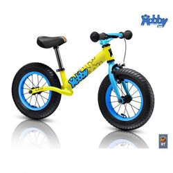 Велобалансир беговел Hobby-bike RT original Balance Twenty two 22 yellow aluminium