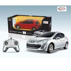 Машина радиоуправляемая Peugeot 308 1:24 Rastar 39800