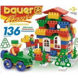 Конструктор для детей Кроха Bauer Classic 197, 136 элементов