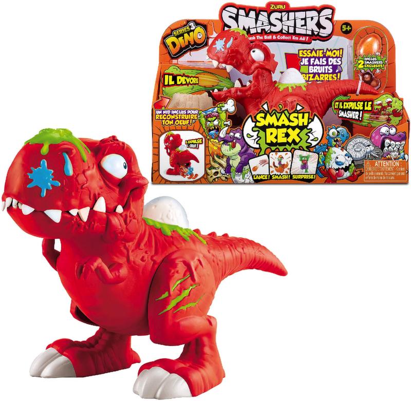 Zuru Smashers Динозавр Рекс серия 3 7439