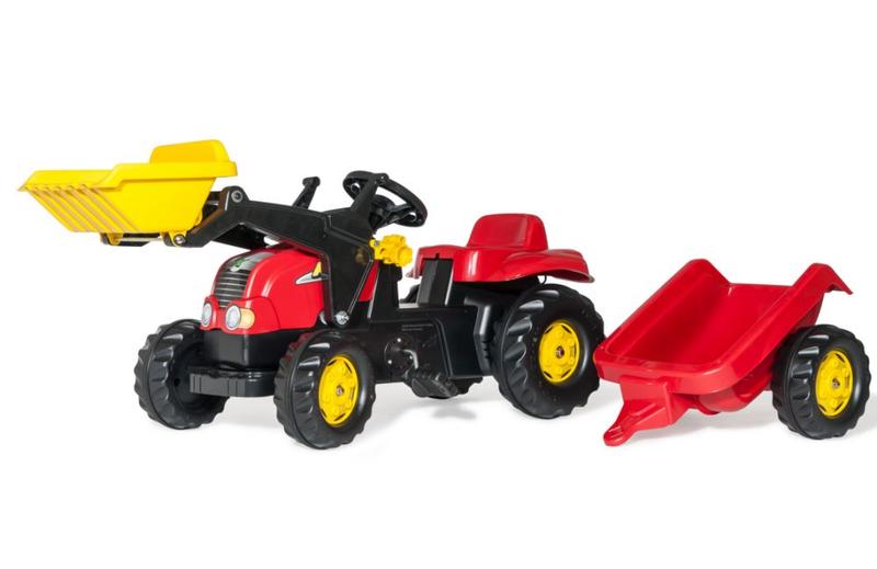 Rolly Toys Трактор педальный rollyKid-X 023127 от 2-х лет