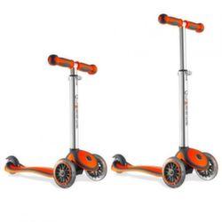 Трехколесный самокат Y-Scoo RT Globber My free orange с блокировкой колес