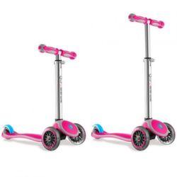 Трехколесный самокат Y-Scoo RT Globber My free pink с блокировкой колес