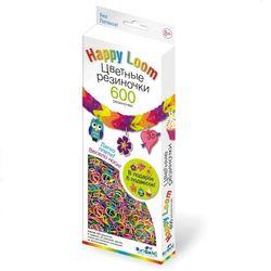 Цветные резиночки Набор для плетения Happy loom, 600 резинок 01802