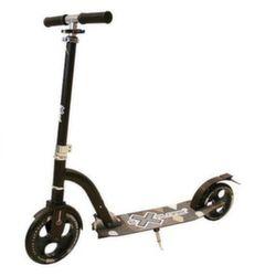 Самокат Explore Big Foot Sport с большим колесом, складной, черный