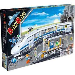 Banbao Конструктор Скоростной поезд на радиоуправлении 662 детали 8221