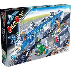 Banbao Конструктор Грузовой поезд на радиоуправлении 1275 деталей 8228