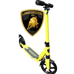 Самокат двухколесный Lamborghini LS1 200 колесо желтый