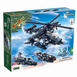 Banbao конструктор Военная техника 3 в 1 295 деталей 8488
