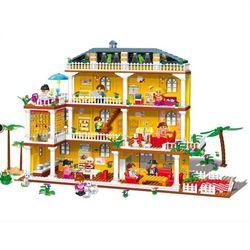 Banbao конструктор Домик для куклы 900 деталей 8370