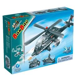 Banbao конструктор Вертолет трансформер 3 в 1 295 деталей 8478